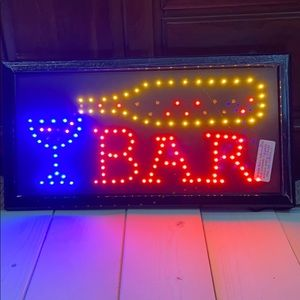 LED Bar Display Sign